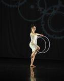 Musical de pour-danse d'attente Photo libre de droits