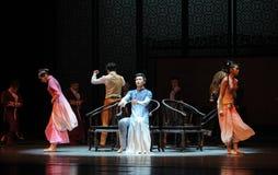 Musical de stoel-tweede handeling van de gebeurtenissen van dans drama-Shawan van het verleden Royalty-vrije Stock Afbeelding
