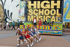 Musical della High School Fotografie Stock