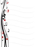 Musical design Stock Images