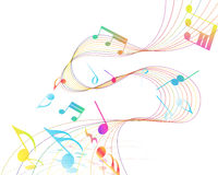 Musical Design Stock Photography