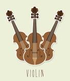 Musical design Stock Image
