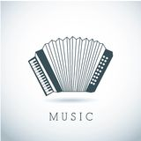 Musical design Royalty Free Stock Images