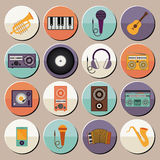Musical design Royalty Free Stock Photography