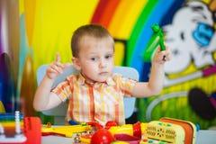 Musical development. children`s leisure royalty free stock photography