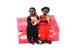 Musical dolls Royalty Free Stock Images