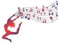 Musical ecstasy Stock Photography