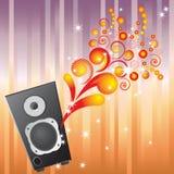 Musical equipment. Stock Image