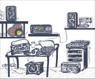 Musical Equipment Stock Image