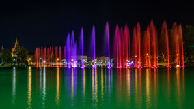 Musical fountain royalty free stock photos