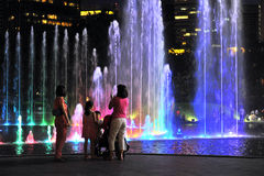 Musical Fountains stock images