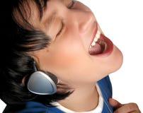 Musical fun Stock Photo