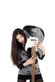 Musical girl Royalty Free Stock Images
