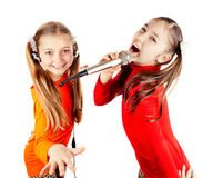 Musical group sings Royalty Free Stock Images