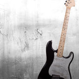 Musical grunge background Stock Image
