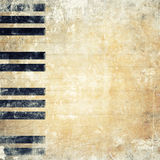 Musical grunge background Royalty Free Stock Image