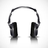 Musical headphones Stock Photography