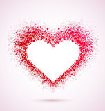 Musical heart Royalty Free Stock Photo