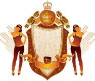Musical heraldry Stock Photo