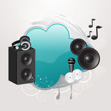 Musical Illustration Stock Photography