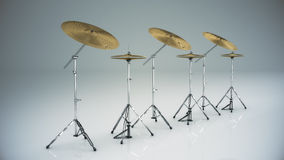 Musical instrument cymbal  Royalty Free Stock Photography