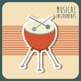 Musical instrument Royalty Free Stock Photography