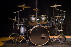 Musical instrument, Drum Kit on the stage Royalty Free Stock Photography