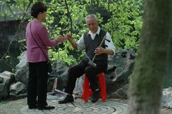 Musical instrument Erhu. It is a traditional Chinese string instrument. The two stringed erhu, violin, also known as the `erhu`, `buzz`, is mainly the Chinese royalty free stock images