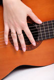 Musical instrument, guitar Royalty Free Stock Photos