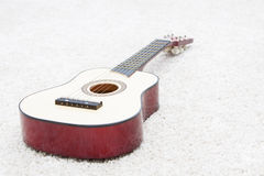 Musical instrument - guitar Royalty Free Stock Images