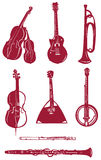 Musical instrument icon Royalty Free Stock Photography