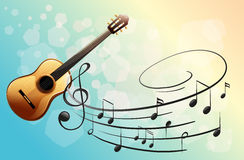 A musical instrument. Illustration of a musical instrument Royalty Free Stock Photo