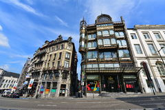 The Musical Instrument Museum (MIM) in central Brussels Stock Images