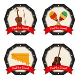 Musical instrument Royalty Free Stock Photos