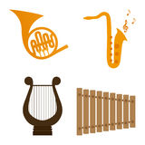 Musical instrument Royalty Free Stock Images