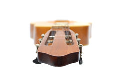 Musical instrument - six strings guitar Stock Image