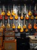Musical instrument store Stock Photo