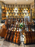 Musical instrument store Royalty Free Stock Photo