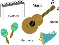 Musical Instruments Royalty Free Stock Images