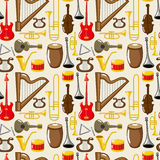 Musical instruments vector illustration