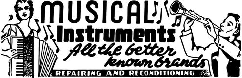 Musical Instruments 2 Stock Photo