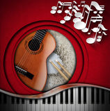 Musical Instruments Background Royalty Free Stock Photography