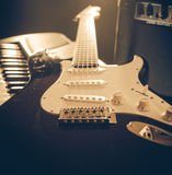 Musical instruments Stock Images