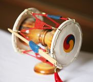 Musical instruments korean Royalty Free Stock Images