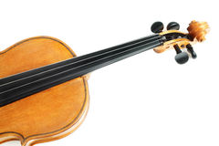 Musical instruments violin Stock Images