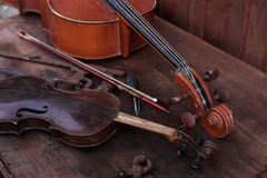 Musical Instruments Workshop Stock Photos