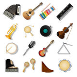 Musical instuments Royalty Free Stock Photos