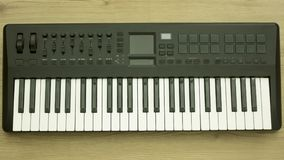 Musical keyboard instrument close up composition photography Stock Photography
