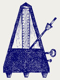Musical metronome Stock Image