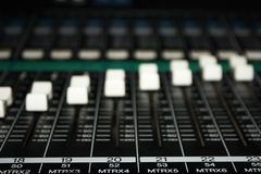 Musical mixer Royalty Free Stock Photo
